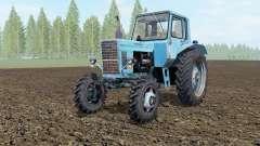 MTZ-80, Bélarus soft-couleur bleu pour Farming Simulator 2017