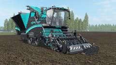 Grimme Maxtron 620 turquoise blue für Farming Simulator 2017
