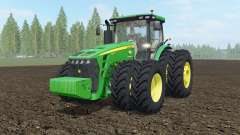 John Deere 8245R-8345R USA pour Farming Simulator 2017