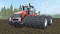 Case IH Steiger 1000 cinnabar für Farming Simulator 2017