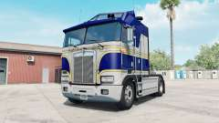 Kenworth K100E phthalo blue pour American Truck Simulator