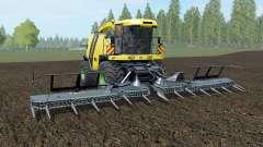 Krone BiG X 1100 banana yellow pour Farming Simulator 2017