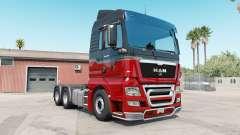 MAN TGX rosso corsa pour American Truck Simulator