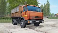 KamAZ-43255 orange Okas für Farming Simulator 2017