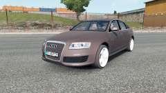 Audi RS 6 (C6) sedan 2008 für Euro Truck Simulator 2