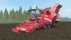 Grimme Maxtron 620 sizzling red für Farming Simulator 2017