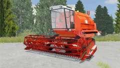 Bizon Gigant Z083 international orange pour Farming Simulator 2015