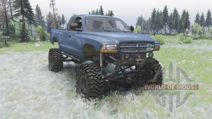 Dodge Dakota Club Cab 1997 für Spin Tires