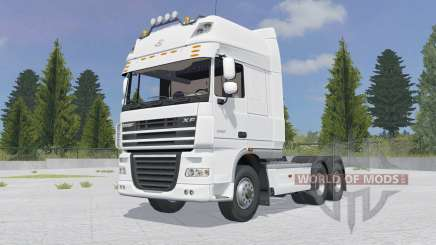 DAF XF105.510 FTT Super Space Cab für Farming Simulator 2015