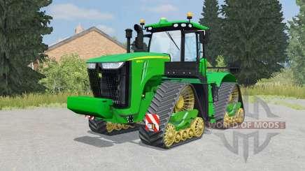 John Deere 9560RX dark pastel green pour Farming Simulator 2015