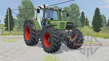 Fendt Favorit 515C Turbomatik asparagus pour Farming Simulator 2015
