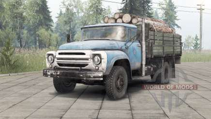 Zil-130 _ pour Spin Tires