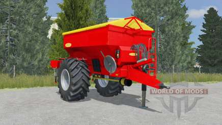 Bredal K105 vivid red pour Farming Simulator 2015