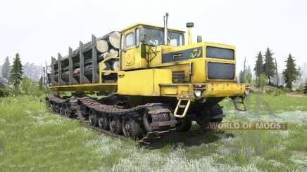 БТ361А-01 Tyumen-Farbe gelb für MudRunner