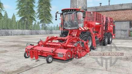 Holmer Terra Dos T4-40 coral red pour Farming Simulator 2017
