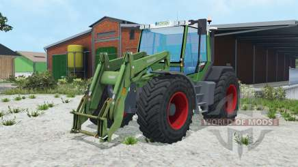 Fendt Xylon 524 1995 pour Farming Simulator 2015