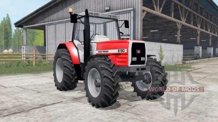 Massey Ferguson 6160-6190 pour Farming Simulator 2017