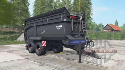 Krampe Bandit 750 gravel pour Farming Simulator 2017