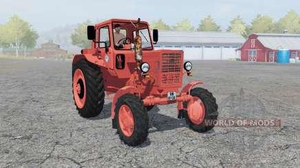 MTZ-50 Biélorussie soft-couleur rouge pour Farming Simulator 2013