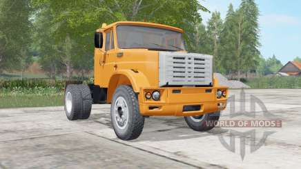 ZIL-541730 leuchtend orange Farbe für Farming Simulator 2017