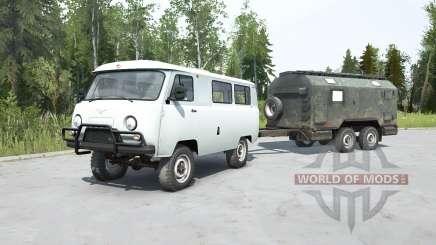 UAZ-2206 für MudRunner