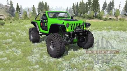 Jeep Wrangler (JK) Trailcat pour MudRunner