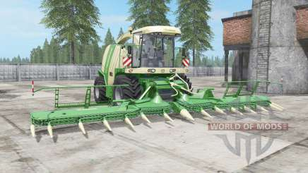 Krone BiG X 1100 buɳker capacité pour Farming Simulator 2017