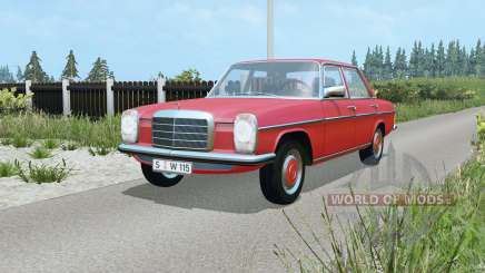 Mercedes-Benz 220D (W115) 1973 pour Farming Simulator 2015