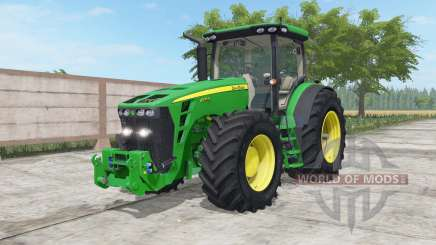 John Deere 8245R-8345R north texas green pour Farming Simulator 2017