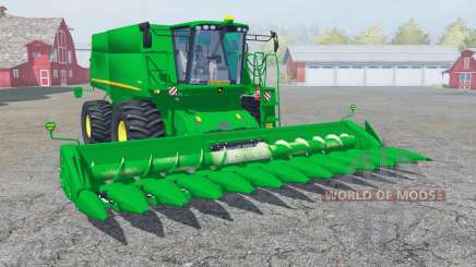 John Deere S690i with cutter für Farming Simulator 2013