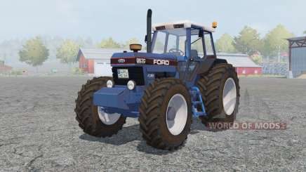 Ford 8630 Powershift cyan cornflower blue für Farming Simulator 2013