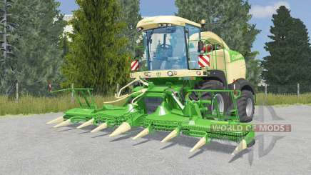 Krone BiG X 580 lime green für Farming Simulator 2015