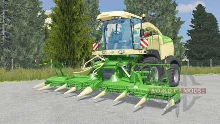 Krone BiG X 580 lime green pour Farming Simulator 2015