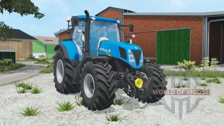 New Holland T7.170 spanish sky blue pour Farming Simulator 2015