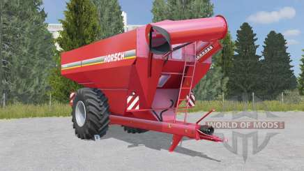 Horsch Titan 34 UW deep carmine pink pour Farming Simulator 2015
