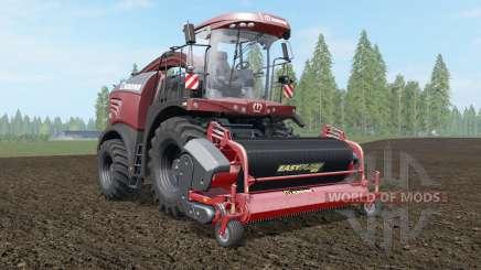 Krone BiG X 580 Tuning Edition deep chestnut pour Farming Simulator 2017