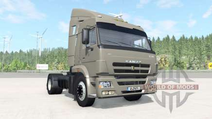 KamAZ-5460 dark gris-couleur orange pour BeamNG Drive