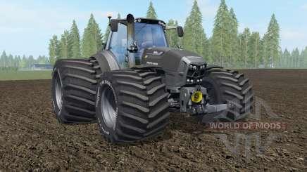 Deutz-Fahr 7250 TTV Agrotron The Beast Black für Farming Simulator 2017