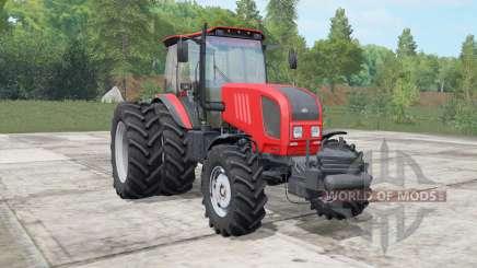 MTZ-Biélorussie 1822.3 de couleur rouge vif pour Farming Simulator 2017