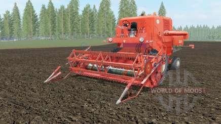 Bizon Super Z056 orange soda pour Farming Simulator 2017