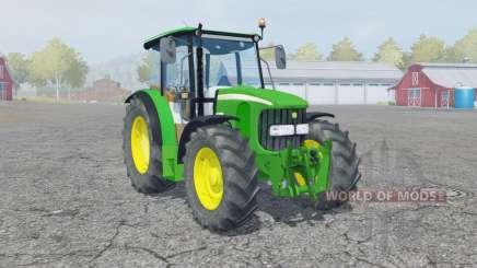 John Deere 5100R manual ignition für Farming Simulator 2013