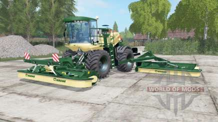 Krone BiG M 500 dartmouth green für Farming Simulator 2017