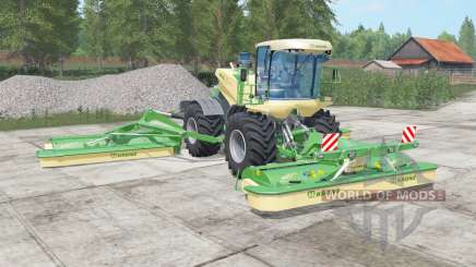 Krone BiG M 500 chateau green für Farming Simulator 2017