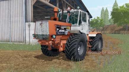 T-150K Sienna orange couleur pour Farming Simulator 2017