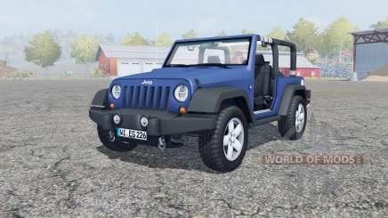 Jeep Wrangler (JK) san marino pour Farming Simulator 2013
