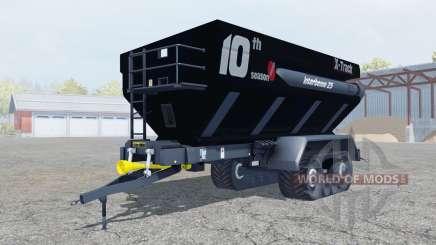 Perard Interbenne 25 X-Track rich black für Farming Simulator 2013