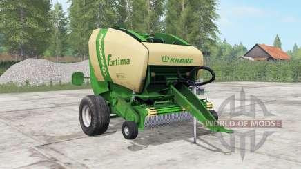 Krone Fortima V 1500 pantone green pour Farming Simulator 2017