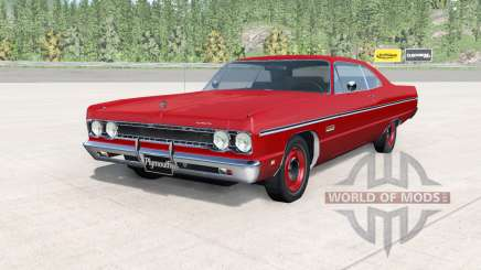 Plymouth Fury lll coupe 1969 v2.0 für BeamNG Drive