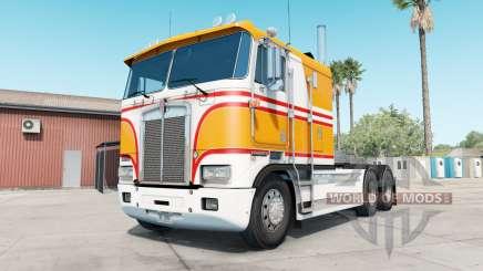Kenworth K100E yellow orange für American Truck Simulator