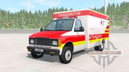 Gavril H-Series German Ambulance v1.1 pour BeamNG Drive